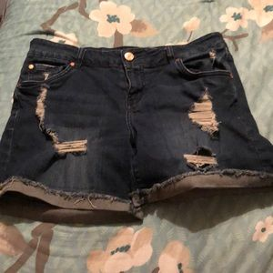 5/$20 Size 8 jean shorts